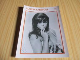 Fiche Cinéma - Claudia Cardinale. - Fanartikel