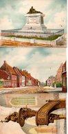 Illustrateur : Barday : Lot De 3  Cartes Barre-Dayez De Morbecque : 2275 E,F Et G De 1944 - Barday