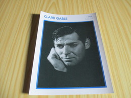Fiche Cinéma - Clark Gable. - Cinemania