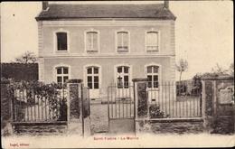 Cp Saint Fiacre Seine-et-Marne, La Mairie - Francia