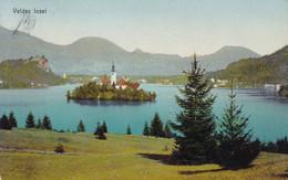 Bled (Veldes) * See, Kirche, Insel, Alpen * Slowenien * AK641 - Slovénie