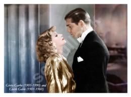 Ukraine Postcard   Greta Garbo   Swedish-American Film Actress   Cinema   Actors - Schauspieler