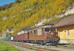 Train De Marchandises St Ursanne - JU Jura