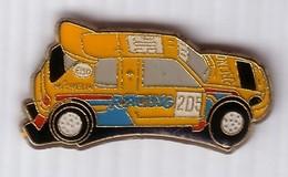 L77 Pin's CITROEN PEUGEOT 205 Rallye PUB MICHELIN ESSO Achat Immédiat Immédiat - Rallye