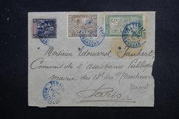 MADAGASCAR - Enveloppe De Tamatave Pour Paris En 1910, Affranchissement Varié Plaisant - L 49685 - Madagaskar (1889-1960)