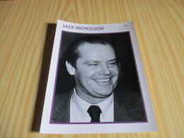 Fiche Cinéma - Jack Nicholson. - Fanartikel
