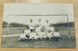 Photographie équipe Du 21ème De Ligne Camp De Beverloo  En 1912 - Frans Demol Assis 2ème En Partant De La Droite - Sports