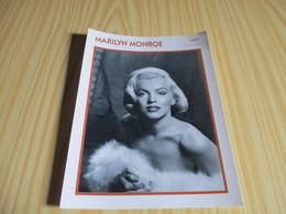 Fiche Cinéma - Marilyn Monroe. - Cinemania