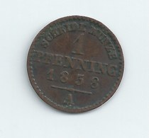 1 KREUZER PRINCIPAUTE DE LIPPE 1861 LEOPOLD III - [ 1] …-1871: Altdeutschland