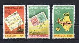Barbuda - 1974 - 1° Centenario U.P.U. ( Unione Postale Universale) - 3 Valori - Nuovi ** - (FDC18875) - Antigua E Barbuda (1981-...)