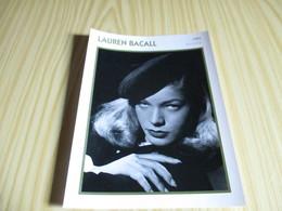 Fiche Cinéma - Lauren Bacall. - Fanartikel
