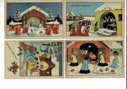 185 - ILLUS. - GELUKKIG KERSTFEEST - Illustrators & Photographers