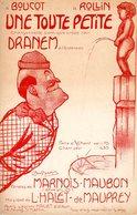 PAR DRANEM PARTITION UNE TOUTE PETITE - DESSIN POUSTHOMIS ( MANNEKEN PIS ?? ) - 1912 - TB ETAT - - Musique & Instruments