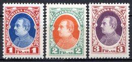 ALBANIE (République) - 1925 - N° 173 à 175 - (Lot De 3 Valeurs Différentes) - (Ahmed Zogou, Président De La République) - Albanie