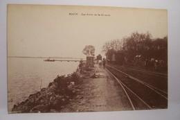 BLAYE   -  Les Bords De La Gironde  - ( CHEMIN DE FER  ) - Blaye