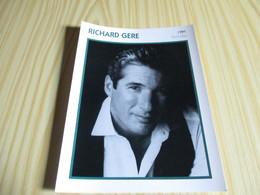 Fiche Cinéma - Richard Gere. - Fanartikel