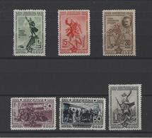 RUSSIE.  YT  N° 804/809  Neuf ** 1940 - Unused Stamps