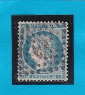 """CERES N° 37  - AMBULANT DE FRANCE """"  VP """"  -  REF 14616 - Timbre Centré - 1870 Beleg Van Parijs"""