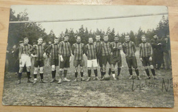Photographie équipe Du 1er Régiment De Ligne Au Camp De Beverloo En 1913 - Frans Demol 4ème à Partir De La Droite - Sports
