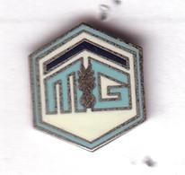 P161 Pin's POLICE GENDARMERIE MG MUTUELLE ASSURANCE Maison Gendarmerie Achat Immédiat - Policia
