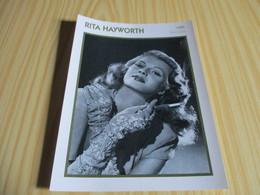 Fiche Cinéma - Rita Hayworth. - Cinemania