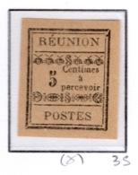 Ex Colonie Française  *  La Réunion  *      Taxe   1  N(*) - Réunion (1852-1975)