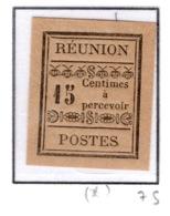 Ex Colonie Française  *  La Réunion  *      Taxe   3   N(*) - Réunion (1852-1975)
