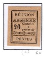 Ex Colonie Française  *  La Réunion  *      Taxe   4   N(*) - Réunion (1852-1975)
