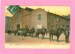 MARSEILLE - Un Attelage Provencal  1908 - Marseilles