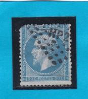 "NAPOLEON  N° 22  - AMBULANT DE FRANCE ""  HP 2°  ""  -  REF 14616 - 1862 Napoleon III"
