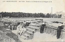 34)  MONTPELLIER  - 2 Me Génie Travaux De Fortification Au Polygone - Montpellier