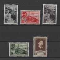 RUSSIE.  YT  N° 838/842  Obl 1941 - 1923-1991 UdSSR