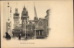 Cp Paris, Exposition Universelle 1900, Pavillon De La Suéde - France