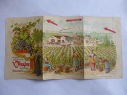 Beaucaire.  Domaine De La Bastide. Vignoble. Dépliant Pubicitaire 1899. - Beaucaire