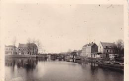 PHOTO ORIGINALE 39 / 45 WW2 WEHRMACHT FRANCE CALAIS VUE SUR LE CANAL - War, Military