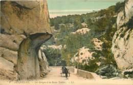 06 - OLLIOULES - LES GORGES DE LA ROCHE TAILLEE - Francia