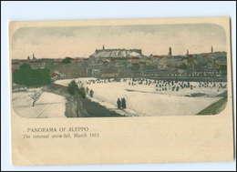 U9093/ Aleppo The Unusual Snow-Fall , March 1911  Schneefall Syrien AK  - Cartoline