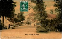 52 ARBOT - Entrée Du Village - Francia