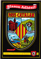 "Blason Adhésif "" PAYS CATALAN "" - France"