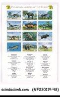 ST VINCENT THE GRENADINES 1999 PREHISTORIC ANIMALS DINOSAURS M/S MNH - Non Classificati