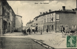 Cp Etain Meuse, Rue Nationale - Francia