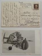 Cartolina Illustrata Da P.M.75 Sardegna Per Pettinengo - 10/08/1943 - 1900-44 Vittorio Emanuele III