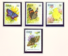 IRELAND  -  1985 Butterflies Set  Unmounted/Never Hinged Mint - Unused Stamps