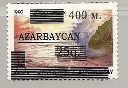 Azerbaijan 1994●Caspian Sea Mi70 Surcharge●●Kaspisches Meer Mi70 Aufdruck ●Mi165I MNH - Azerbaïjan