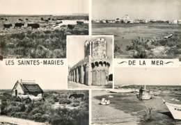 13 - LES SAINTES MARIES  DE LA MER - MULTIVUES - Saintes Maries De La Mer
