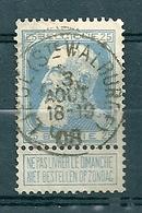 76 Gestempeld LIEGE STE WALBURGE - COBA 15 Euro - 1905 Breiter Bart