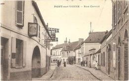 Dépt 89 - PONT-SUR-YONNE - Rue Carnot - (HÔTEL DE L'ÉCU) - Édit. Baudier - Pont Sur Yonne