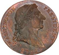 United States * 1 Cent 1792 * Washington Roman Head * ⌀ 29 Mm * REPRODUCTION - 1793-1796: Primizie