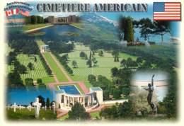 14 - DEBARQUEMENT EN NORMANDIE - CIMETIERE AMERICAIN - Non Classés