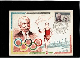 LCTN59/LE/2 - JEUX UNIVERSITAIRES MONDIAUX ANTONY 1/9/1957 - Olympic Games